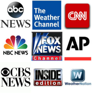 News media we have worked with in the past.